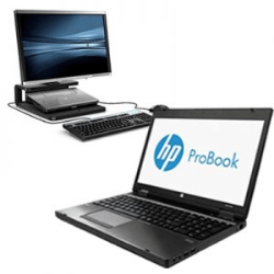 HP-PROBOOK-6470B-INTEL-I5-3210M-4GB-DVD-20''P201-DOCKING-STATION